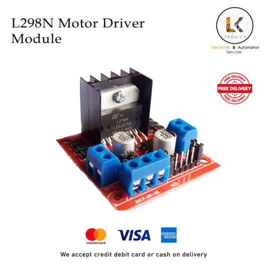 L298N Motor Driver Module Main Image