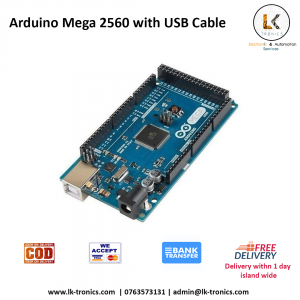 Arduino Mega with USB cable