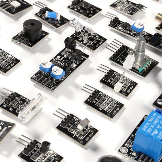 37 in 1 Sensor Modules Kit with Tutorial for R3 Board Mega2560 Mega328 Nano Compatible with 1