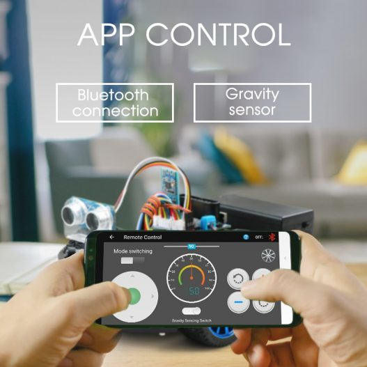 4WD Smart Robot Car Diy for Arduino R3 Starter Robotics Learning Kit APP RC STEM Toy 1