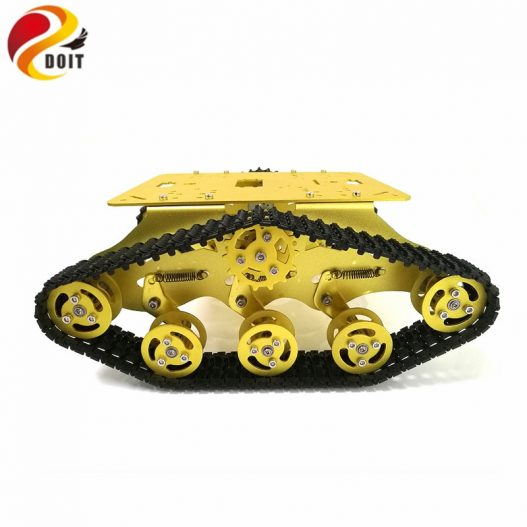 DOIT TS300 Tracked Robot Smart Car Platform with Damping Effect System for Arduino Raspberry Pi DIY 4