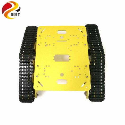 DOIT TS300 Tracked Robot Smart Car Platform with Damping Effect System for Arduino Raspberry Pi DIY 5