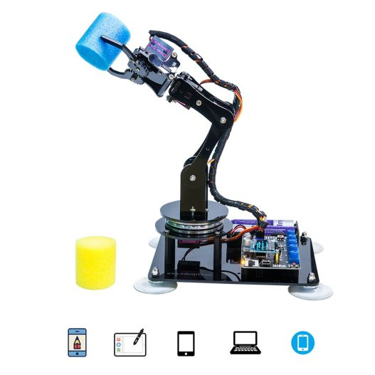 New Hot DIY 5 DOF Robotic Arm Kit Stem Robotics Kit With High Quality For Arduino