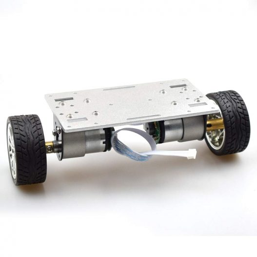 RC Two Wheel Self Balancing Robot Car Chassis Kit with Dual DC 12V Motor with Speed