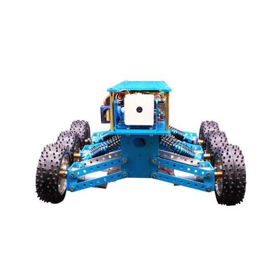 Yahboom 6WD STEM Programmable Educational Starter Smartduino Arduinos R3 Robot Car Kit 1