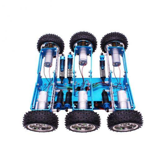 Yahboom 6WD STEM Programmable Educational Starter Smartduino Arduinos R3 Robot Car Kit 3