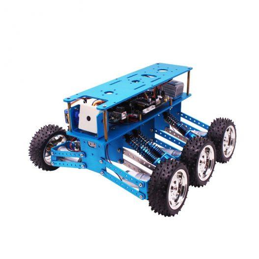 Yahboom 6WD STEM Programmable Educational Starter Smartduino Arduinos R3 Robot Car Kit 5