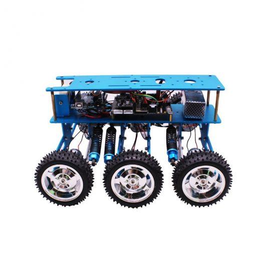 Yahboom 6WD STEM Programmable Educational Starter Smartduino Arduinos R3 Robot Car Kit