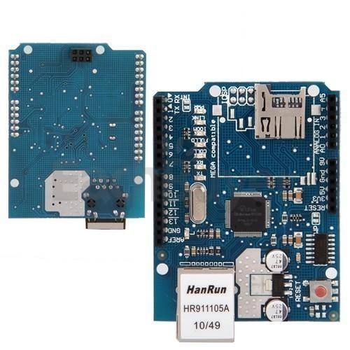 ethernet shield w5100 for arduino uno mega arduino shield rm0948 by robomart a12995