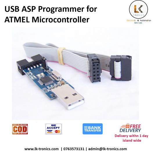 USB ASP Programmer for ATMEL Microcontroller