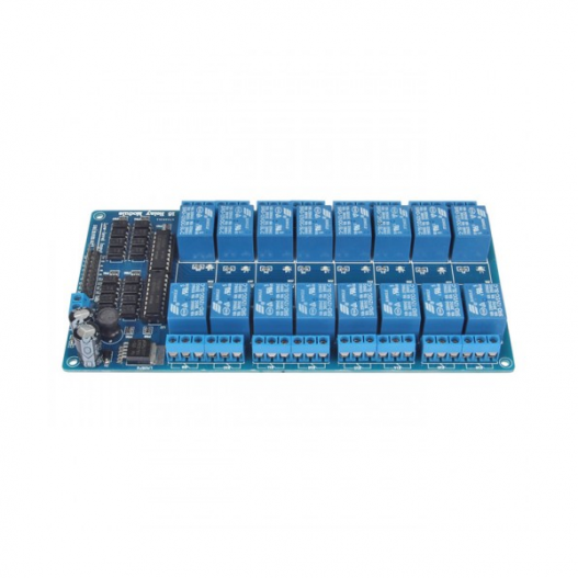 16 channel 5v relay module with optocoupler lm2576 power supply 1