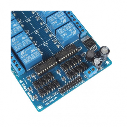 16 channel 5v relay module with optocoupler lm2576 power supply 3