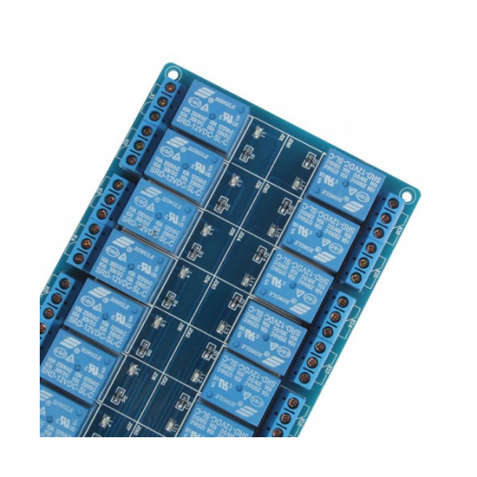 16 channel 5v relay module with optocoupler lm2576 power supply 4