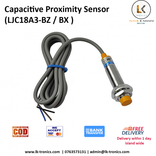 Capacitive Proximity Sensor LJC18A3 BZ BX